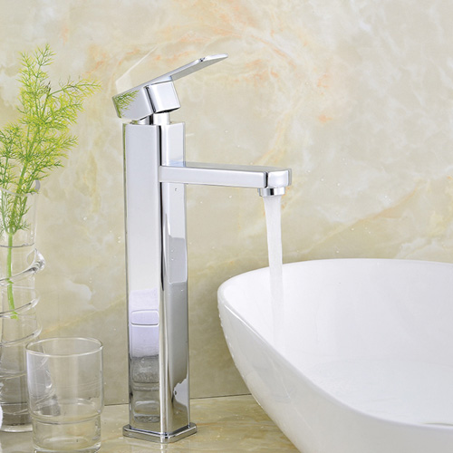 Chrome plating single handle water tap 0523