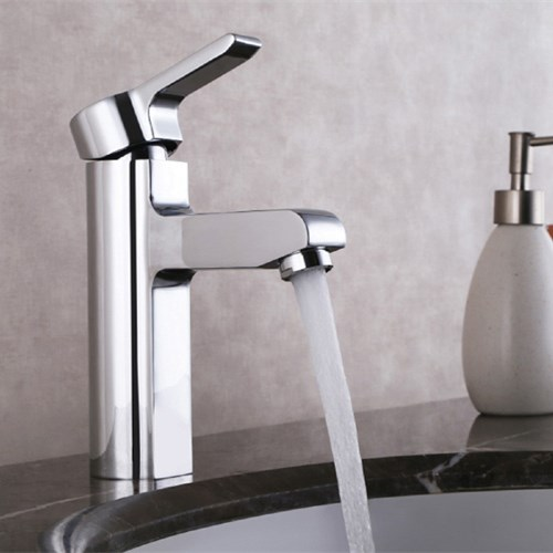 Brass Chrome Plating Basin Faucet 0730