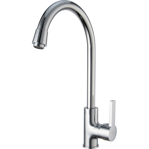 Chrome Plating Brass Single Handle Kitchen Mixer 0803