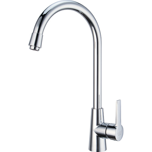Chrome Plating Brass Single Handle Kitchen Mixer 0817
