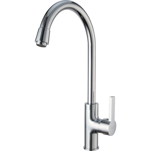 Chrome Plating Brass Single Handle Kitchen Mixer 0903