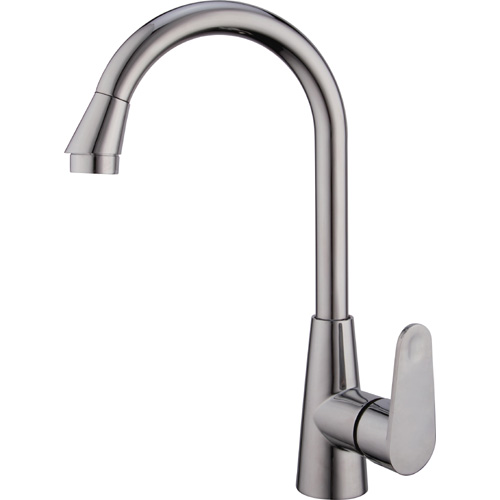 Chrome Plating Brass Single Handle Kitchen Faucet 0845