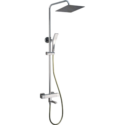 Bathroom Brass Chrome Plating Shower Set 0305