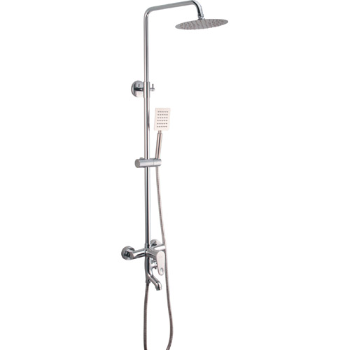 Bathroom Brass Chrome Plating Shower Set 0308