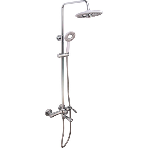 Bathroom Brass Chrome Plating Shower Set 0309