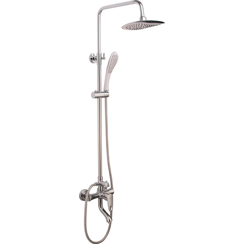 Bathroom Brass Chrome Plating Shower Set 0312