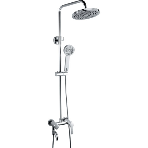 Bathroom Brass Chrome Plating Shower Set 0313
