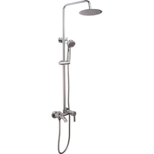 Bathroom Brass Chrome Plating Shower Set 0314