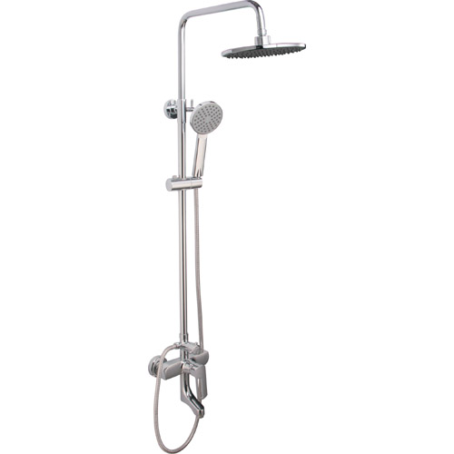 Bathroom Brass Chrome Plating Shower Set 0360