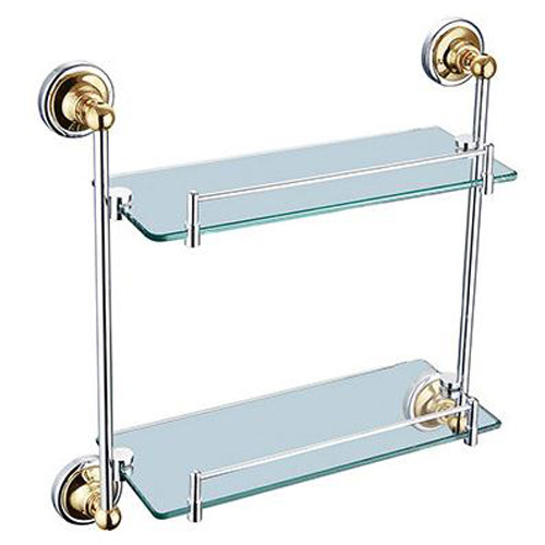 2 Tiers Glass Shelf STR-B9114